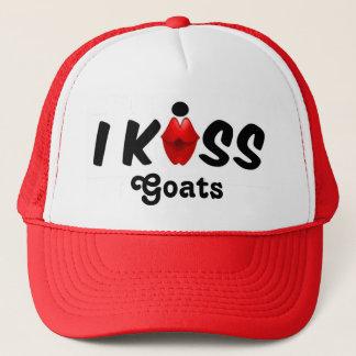 Hut-Kuss küsse ich Ziegen Truckerkappe