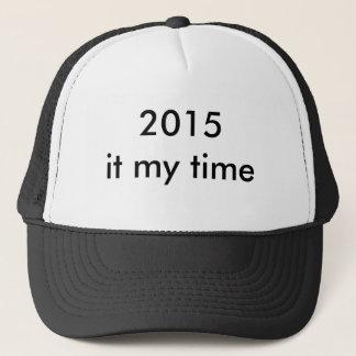 Hut mit 2015 Klassen Truckerkappe