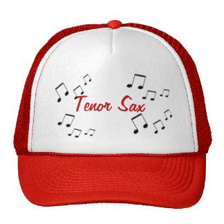 Hut - Musikinstrument-Text im Rot Caps