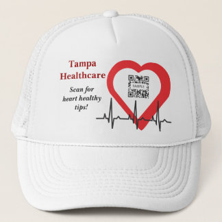 Hut-Schablonen-Tampa-Gesundheitswesen Truckerkappe