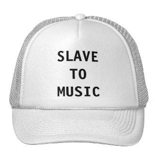 Hut-Sklave zur Musik Retrocap