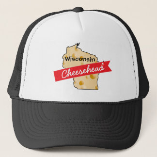 Hut Wisconsins Cheesehead Truckerkappe