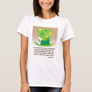 Hutmacher-Alice im Wunderland-Shirt Lewis Carroll T-Shirt