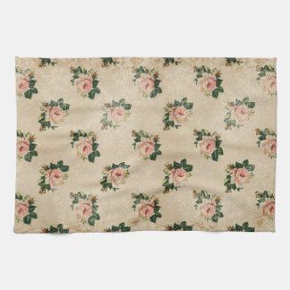 Hütten-Rosen-Küchen-Tuch Handtuch