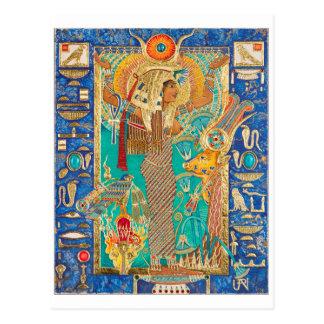 Hwt-Sie (Hathor), Postkarte