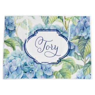 Hydrangea-Brautjungferngeschenktasche für Tory Große Geschenktüte