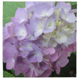 Hydrangea-bunte Blume Serviette
