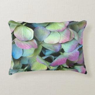 HYDRANGEA-Mehrfarbenblumenblätter --- Dekokissen
