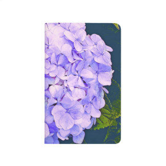 Hydrangea-Notizbuch Taschennotizbuch
