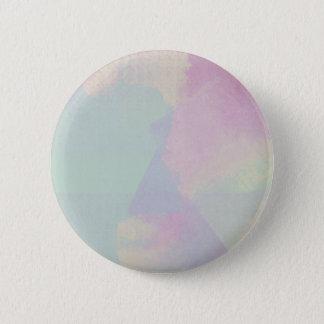 Hydrangea-Reihewatercolor-abstrakter Opal Runder Button 5,1 Cm