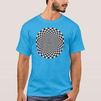 Hypnotische optische Täuschung T-Shirt