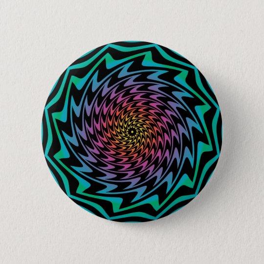 HYPNOTISCHES DISC hypnotisierende coole Runder Button 5,7 Cm