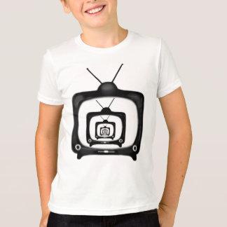 Hypnotisches Fernsehen scherzt Retro Art-T - Shirt