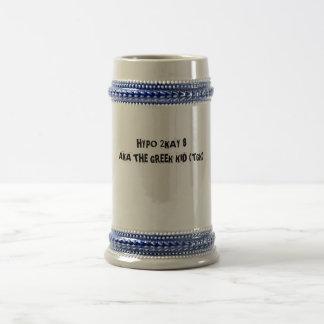 HYPO 2KAY 8 ALIAS das GRIECHISCHE KIND (TGK) Bierkrug