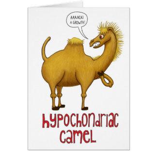 Hypochondrisches Kamel Grußkarte
