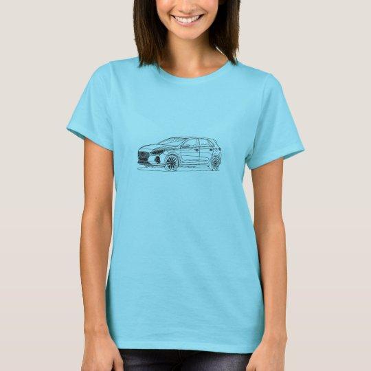 Hyu Elantra GT 2017 T-Shirt