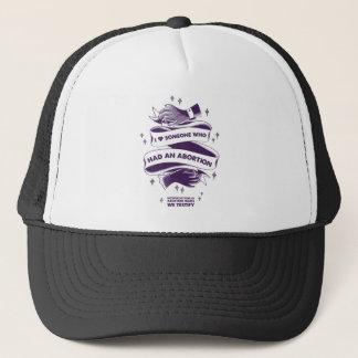 I <3 jemand, das einen Abtreibungs-Hut hatte Truckerkappe
