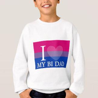 I <3 mein Bi-Vati Sweatshirt