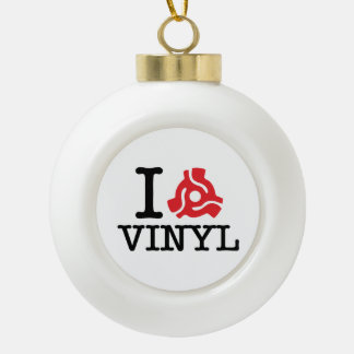 I 45 Adapter-Vinyl Keramik Kugel-Ornament
