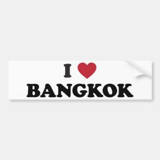 I coeur Bangkok Thaïlande Autocollant De Voiture