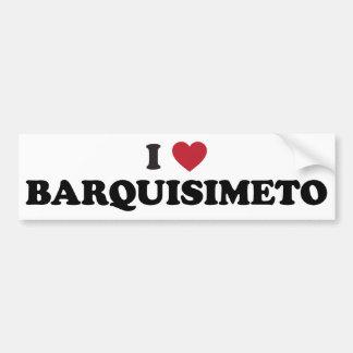 I coeur Barquisimeto Venezuela Autocollant De Voiture