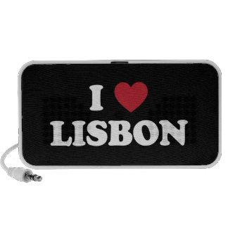 I coeur Lisbonne Portugal Mini Haut-parleurs