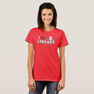 I das Shirt der Herz-Bibliotheks-Frauen