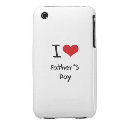 I der Vatertag Liebe- Case-Mate iPhone 3 Hüllen