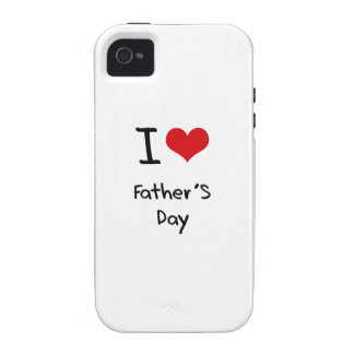 I der Vatertag Liebe- Case-Mate iPhone 4 Cover
