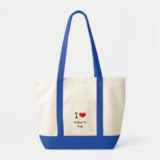 I der Vatertag Liebe- Tasche