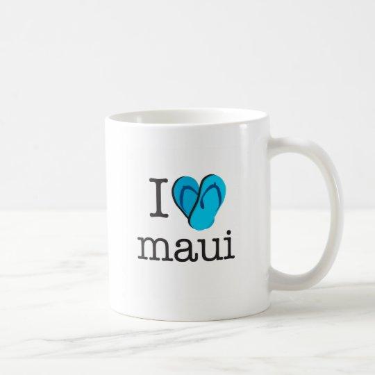 I drehen Herz Maui Reinfälle um Tasse