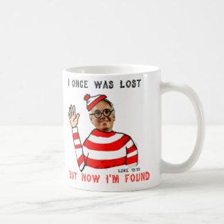 I einmal war verloren, aber jetzt bin ich kaffeetasse