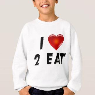 I essen Liebe 2 Sweatshirt
