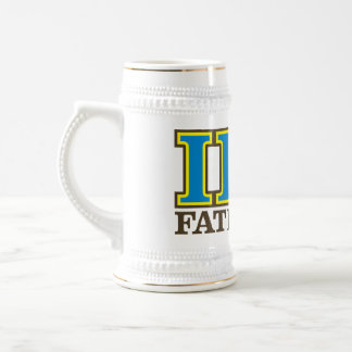 I Eta PU - FATernity Stein/Tasse! Bierkrug