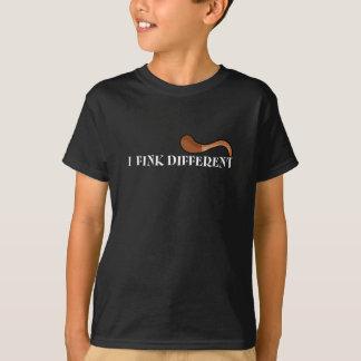 I Fink unterschiedlich - Kinder dunkle T T-Shirt