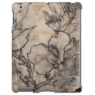 I floral tatoué coque iPad