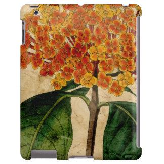I floral vibrant coque iPad