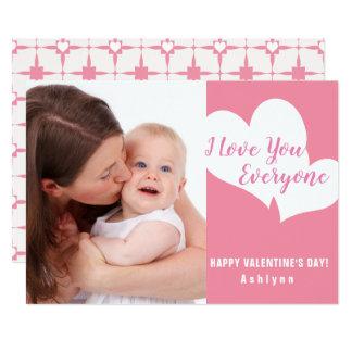 I Foto-Karte Liebesie jeder   Valentines Tages Karte
