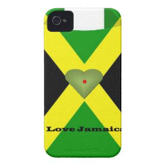 I haben Liebe Jamaika einen schönen Tag und eine iPhone 4 Hülle
