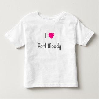 💖 I Hafen schwermütig Kleinkinder T-shirt