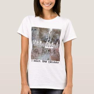 Ì Hëårt ÜFØ Çåtchêr T-Shirt