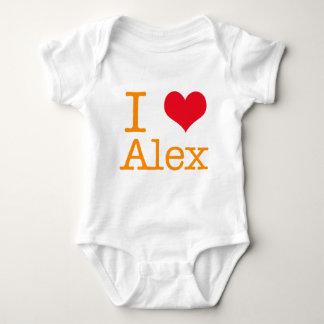 I Herz Alex Baby Strampler