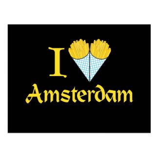 I Herz Amsterdam Postkarte