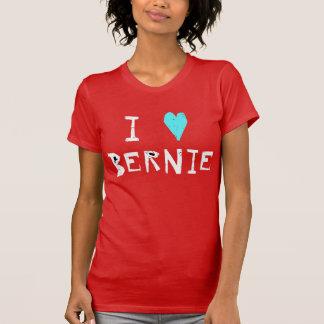 I Herz-Bernie-Sandpapierschleifmaschinen T-Shirt