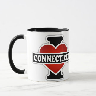 I Herz Connecticut Tasse