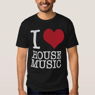 I Herz-Haus-Musik Tshirt