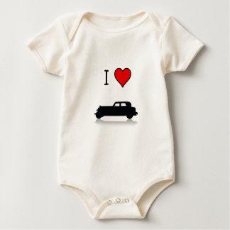 I Herz Hotrods Säugling Baby Strampler