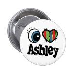 I Herz (Liebe) Ashley Anstecknadel