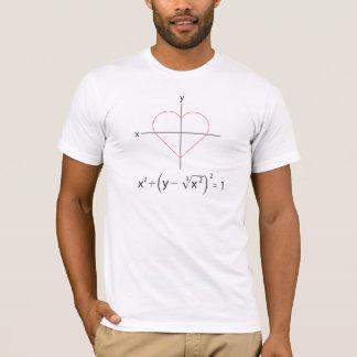 I Herz-Mathe-Diagramm T-Shirt