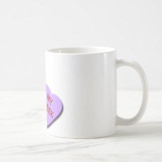 I Herz meine Aussenseiter-Süßigkeits-Herzen Kaffeetasse